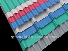 cold rolled color coated galvanized metal roofing sheets prices