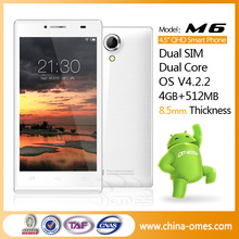 2014 Low Price 4.5 inch 5MP 1.2GHz Dual Core Dual SIM Android Celular