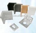 claro adesivos parede prateleira de exposição acrílica bracketchina acessórios de hardware mobiliário de plástico suportes de prateleira