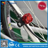 SG-Ruby Red/White/Blue Aluminum Led Cycling Light Bike Tail Light Led