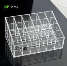 Low price acrylic lipstick display stand,acrylic rotating lipstick display stand