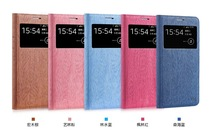 Fezzil Vintage New Pattern Flip Dockable felt mobile phone case for samsung Galaxy G7106