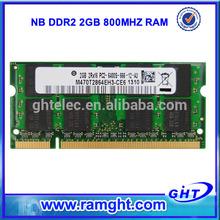 Stock lot ETT original chips ddr2 2gb ram mobile phones for laptop