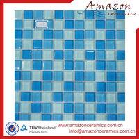 low price blue swimming pool mosaic ceramic tiles