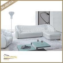 Sofás, baratos da sala de estar sofá branco, móveis para sala sofá da forma l, xc-yfn-12