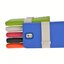 Fezzil Fancy New Design Grip leather neck case phone for samsung Galaxy Note3