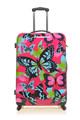 2015 splendida farfalla ABS/materiale pc rigida hardcase filatrice valigia set da Cambridge