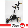 2014 superior quality aluminum remote golf trolley