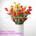 Decoração do feriado presente& usar flores artificiais tulipa artificial