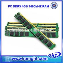 Branded export surplus desktop 4gb ddr3 ram with full compatible