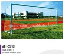 2015 new professional standard high quality steel football goal/soccer goal