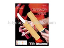 feliz halloween sangrienta de juguete de plástico cuchillo l074805
