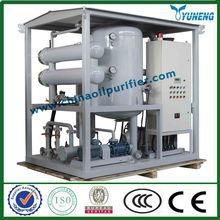 YUNENG ZJA Transformer Oil Purifier, High Vacuum Insulating Oil Filtration Equipment, Vacuum Transformer Oil Water Separator