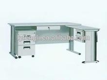 movable steel office computer desk