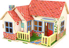 Beautiful wooden DIY doll houses for girls