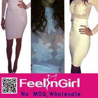 2014 newest fashion plus size bandage dresses wholesale