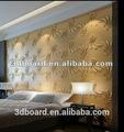 interior en 3d papel pintado de vinilo del pvc papel pintado para la decoración del restaurante
