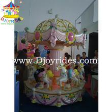 6 seats loyal carousel house in amusement park