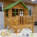 al aire libre de madera y casa de juego