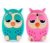 custom ecofriendly silicon animal case for iphone 4