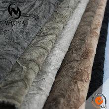Velvet corduroy upholstery fabric