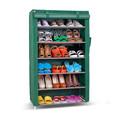 30- par de dobramento de aço inoxidável rack sapata armários de armazenamento
