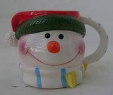 2014 snowman gift christmas ceramic coffee mug