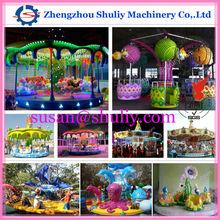 Beautiful amusement carousel,amusement games carousel