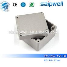 2014 Best sales waterproof aluminum tool box for trucks ip67 protection 80*76*57mm