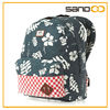 Mens womens backpack aloha red floral backpack travel bag