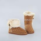 Fashion girls fluffy winter boots