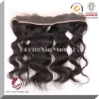 Hand tied top grade wholesale brazilian full lace frontal closures
