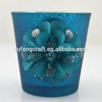 wholesale mercury examples of handicrafts glass jars