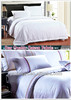 100%cotton 300tc sateen hotel bedding sheet set