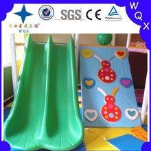 toddler slide and soft climbing toys for indoor plastic playground