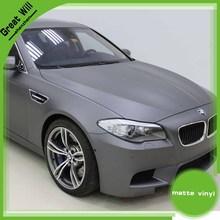 Reduced Price Silver Matte Vinyl,3m car wrapping vinyl,matte black car sticker1.52*30m