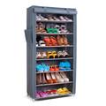 produtos domésticos de plástico fechado sapateira vertical