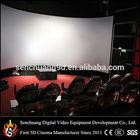 5D cinema house, 5D cinema system with 5D motion chair