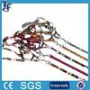 2014 new arrival products yiwu supplier plain nylon dog collar leash