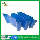 1.0mm opal milk white lake blue sky blue pultrusion flat fiberglass strip/sheet/batten for roofing