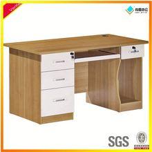 simple design compact computer table design,custom made computer desk
