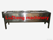 Carrot blanching machine / Broccoli blanching machine / Edamame blanching machine