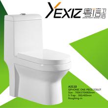 A3110 toilet mini camera siphonic flush push button pvc toilet wc