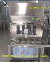 Cheaper Semi-auto Olive Oil/Wine/Beverage/Edible/Beer Filling Line
