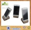 Wooden phone base wooden phone stand wooden phone holder
