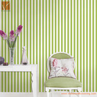 natural light green color pvc wallpaper