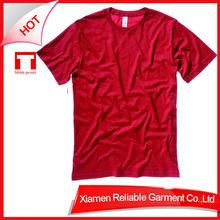 32S 100% cotton popular custom blank tshirt with good quality