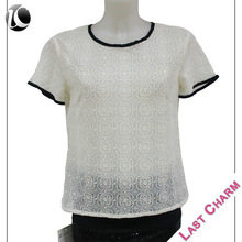 hot selling 2014 office uniform designs for women blouse