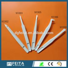 Hot Sale ESD White Plastic Tweezers