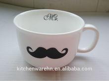 2014 Haonai popular products,ceramic mug for lovers